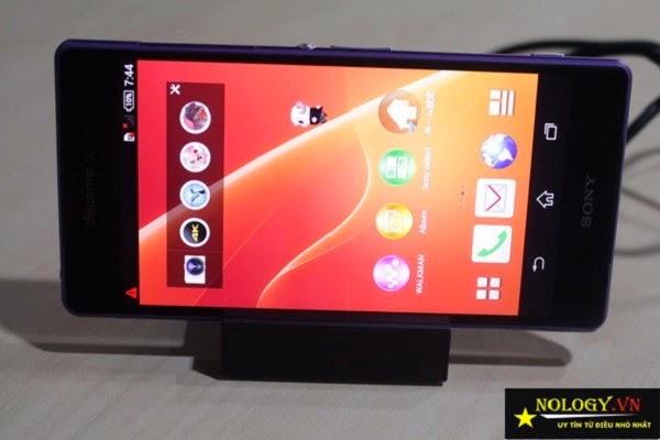 Sony Xperia Z2 doccomo cách test