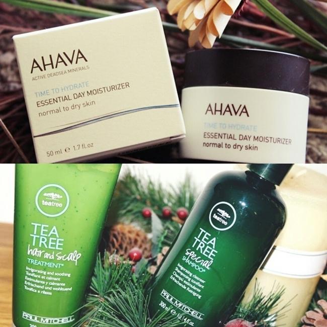 Instagram @lelazivanovic. Ahava Essential day moisturizer review. Paul Mitchell Tea Tree Special Shampoo review.Paul MItchell Tea Tree head and scalp treatment review.