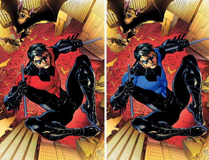 New 52 superheros wardrobe the red nightwing suit solutioingenieria Images