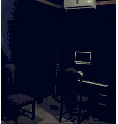 lil kesh's studio