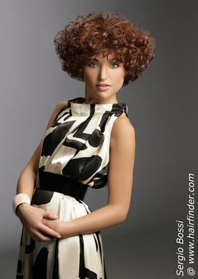 Kurzes, krauses Haar im Sommer 2012/2013