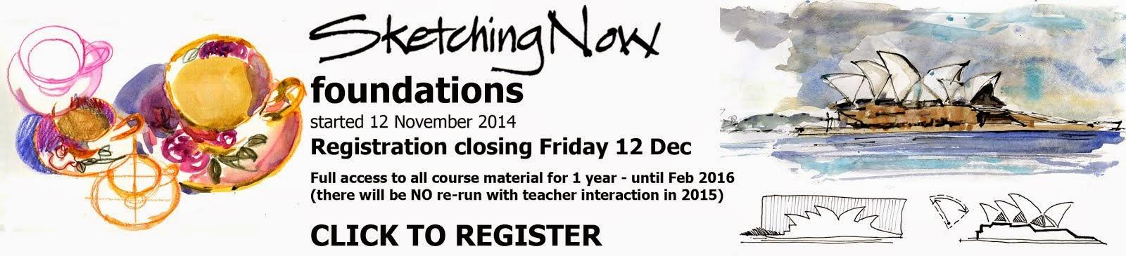 Online Sketching Class