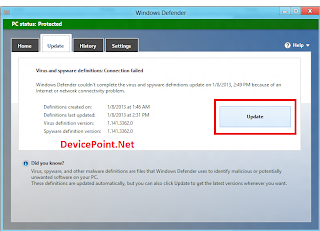 Windows Defender Update