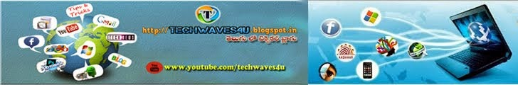techwaves4u.blogspot.in - తెలుగు లో టెక్నికల్ బ్లాగు