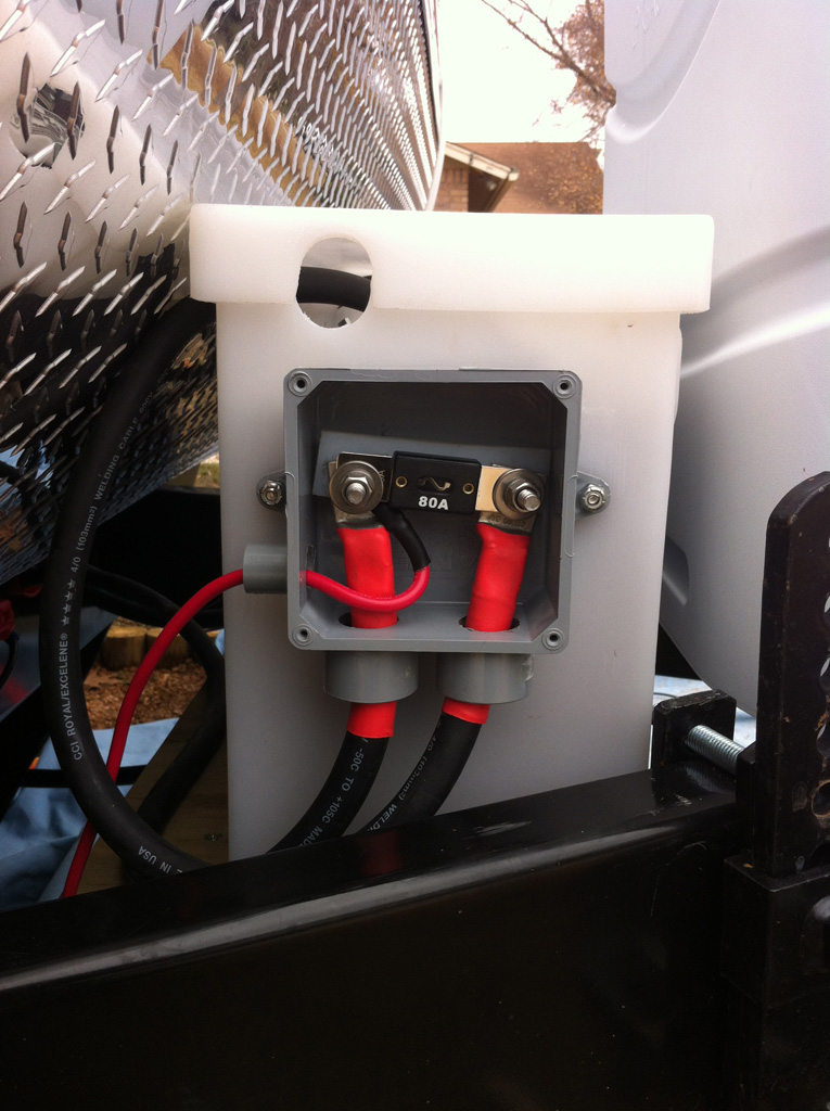 edward plumer solar panels on jayco travel trailer Komfort Trailer Wiring the second box mirrors the first and contains all of the negative connections (0v) instead of a fuse, the block in the middle is a \