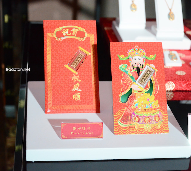 Got to love these Prosperity Packets. Angpow with real gold, anyone?
