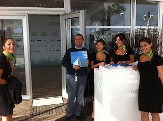 Volvo+Azafatas Impresiones del Village Volvo Ocean Race de Alicante   Octubre 2011
