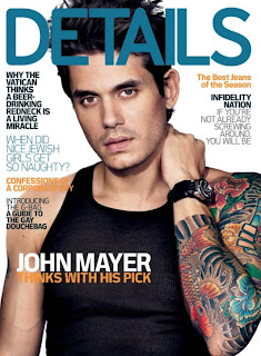 John Mayer on Details Magz