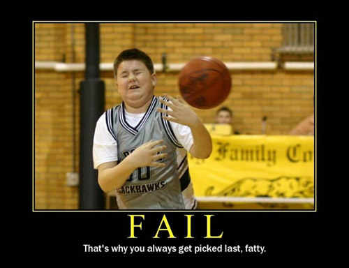 Demotivational posters epic fail