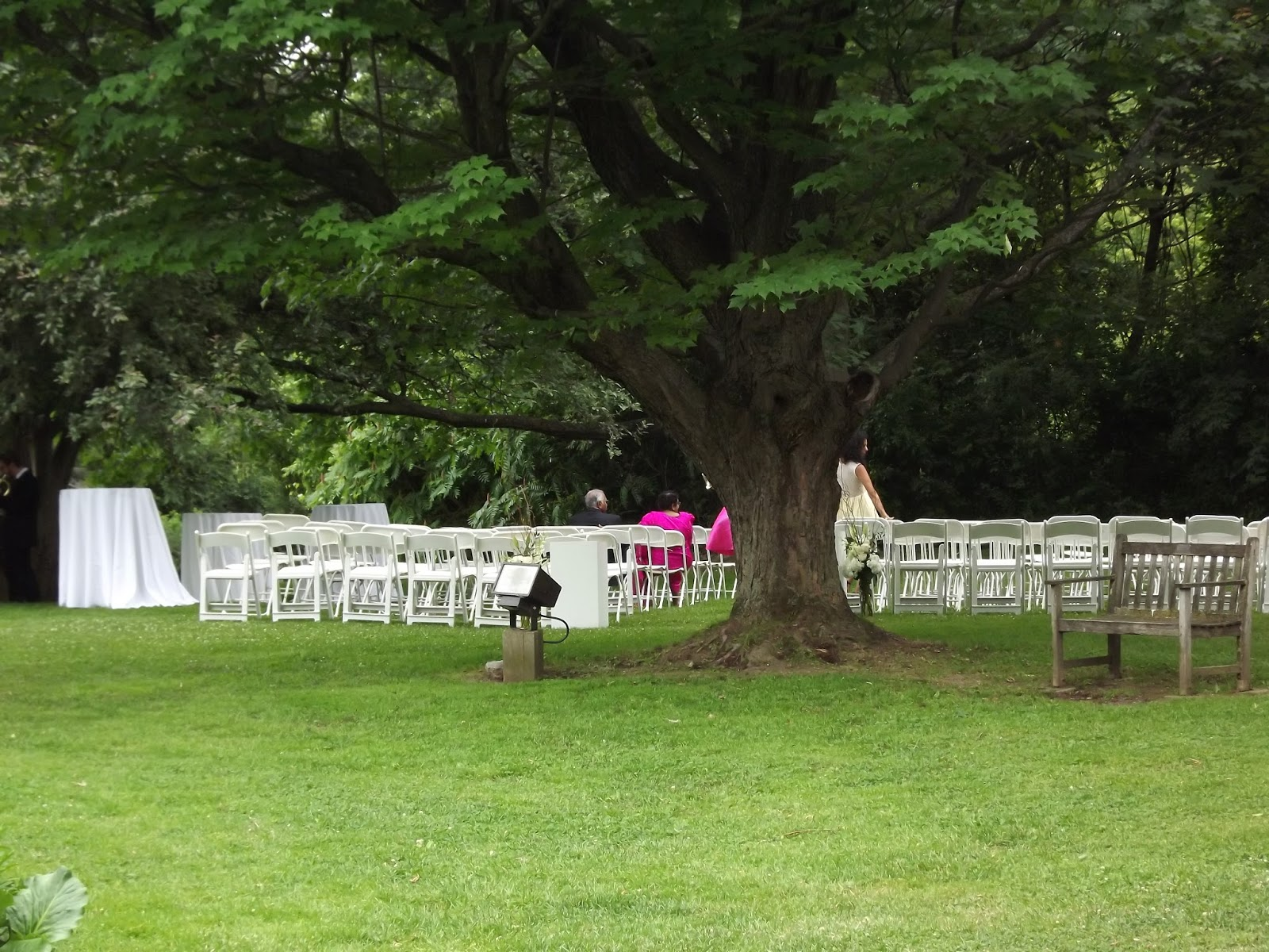 The Bride Entered Outdoors Through Doors You See In Photo Above Gardens And Over Towards Stately