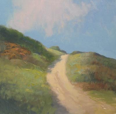 Impressionist oil landscape painting by artist Steve Allrich