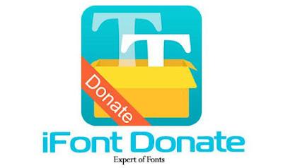 iFont Donate v5.5.9 Apk