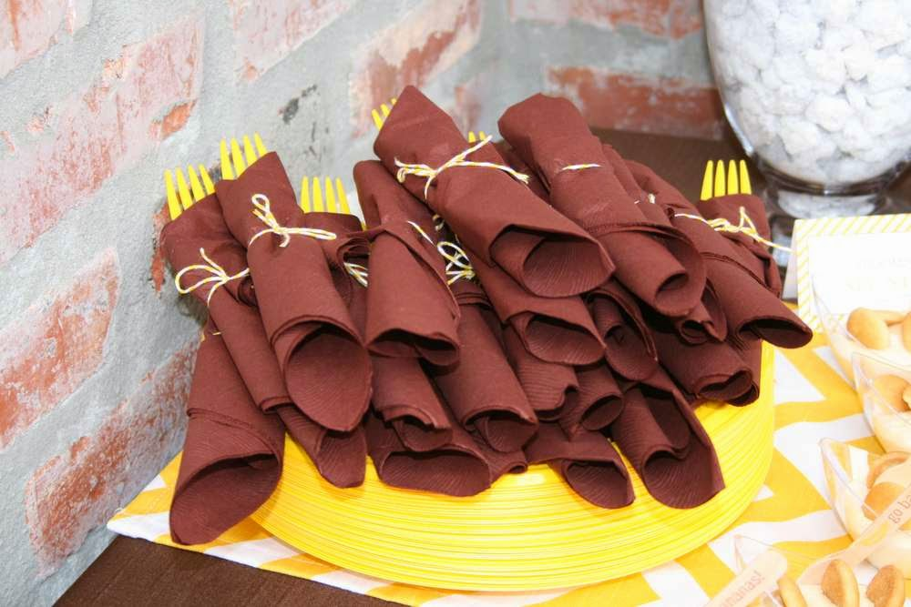 decoração festa  infantil talheres bh