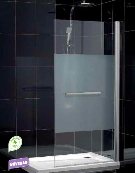 Mamparas Para Ducha Zona Norte:Baño con Ducha: Biombos de ducha OPEN, para una zona de ducha amplia