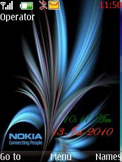 Tema Nokia  nokiaclock