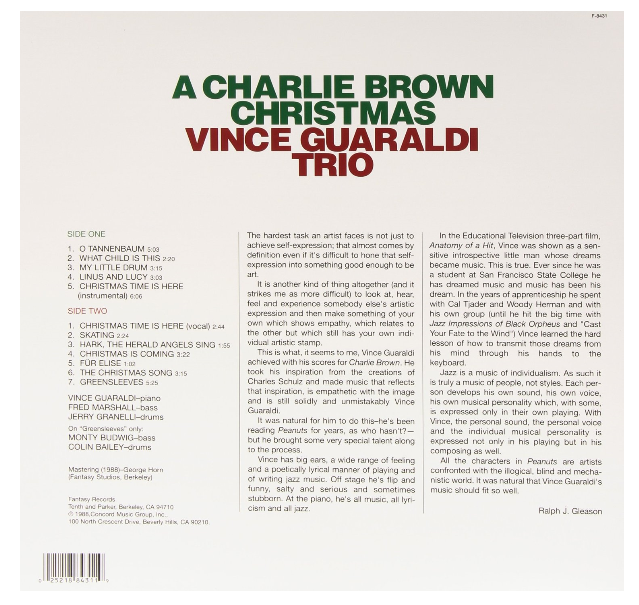 ART OF MAKENOIZE: A Charlie Brown Christmas /// Vince Guaraldi Trio