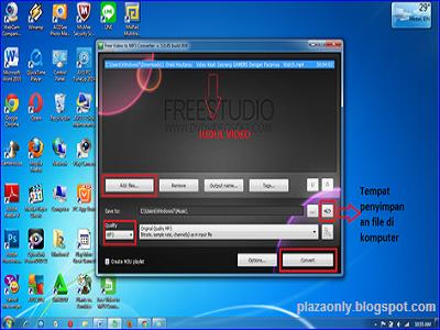 Cara Mengconversi Musik Video ke MP3