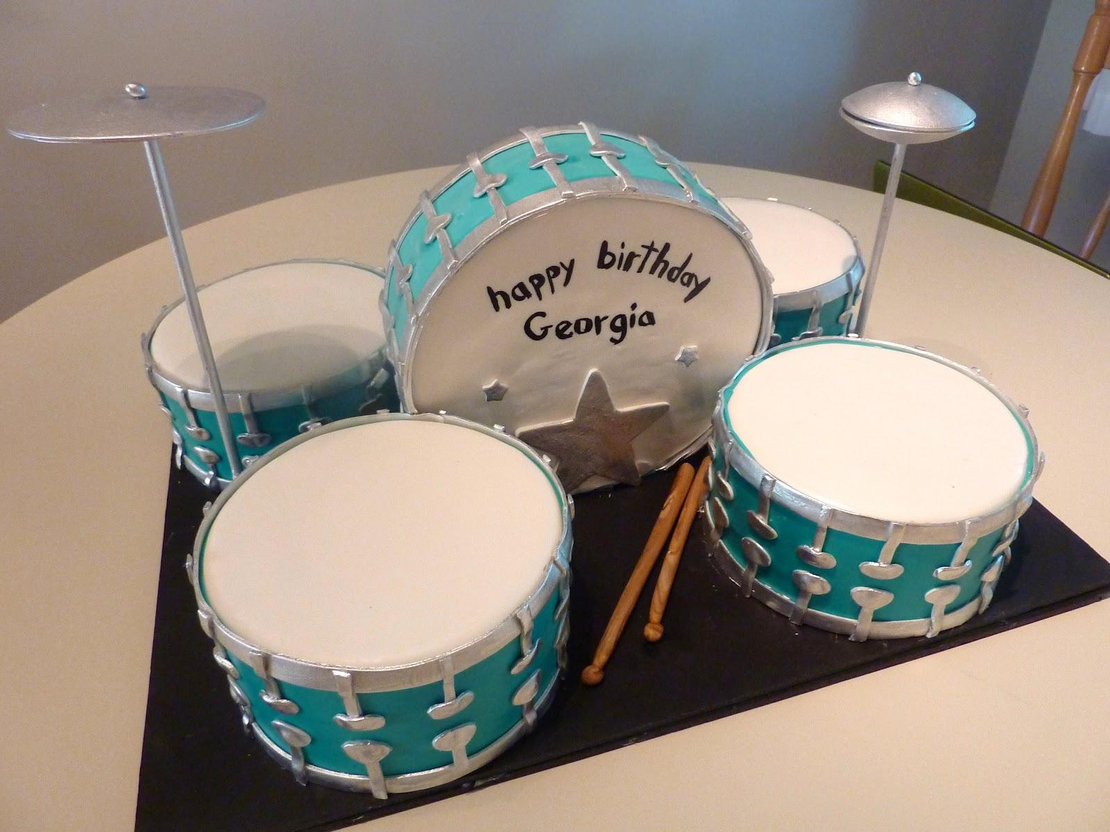 Drum Set Cake Ideas
