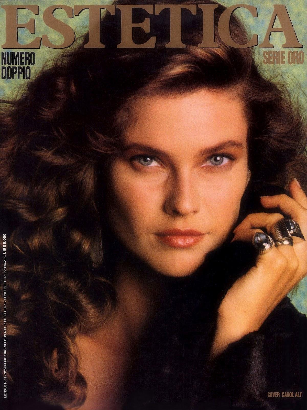 Yolanda Foster Modeling Photos 1980s Top models of the world: 1987
