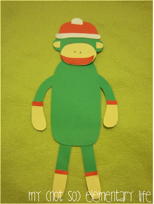 http://www.teacherspayteachers.com/Product/Sock-Monkey-Craft-A-Craft-for-Christmas-or-Anytime-of-the-Year-995238