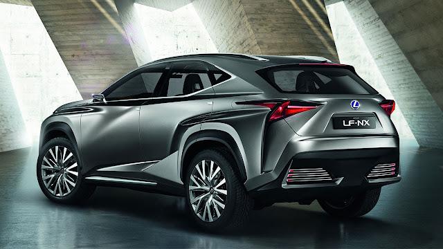 Lexus LF-NX Crossover Concept rear