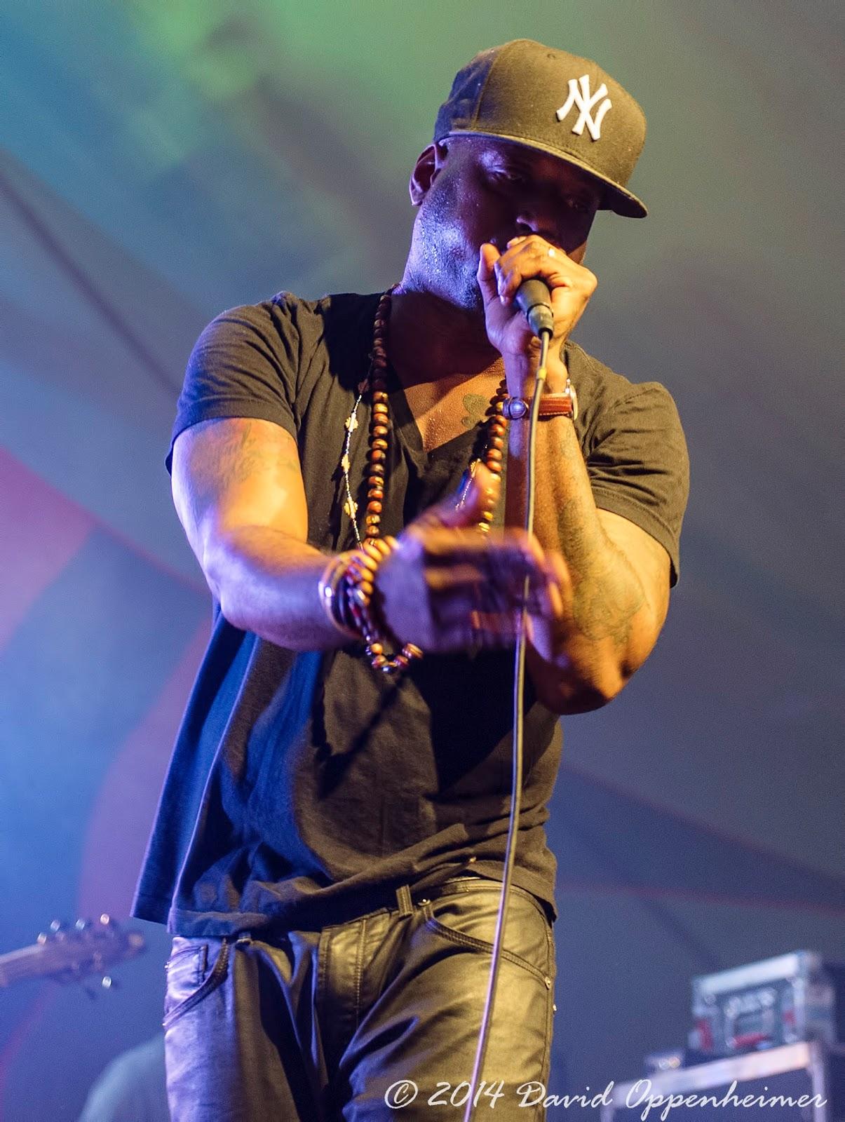 Talib Kweli Performing at LEAF Festival
