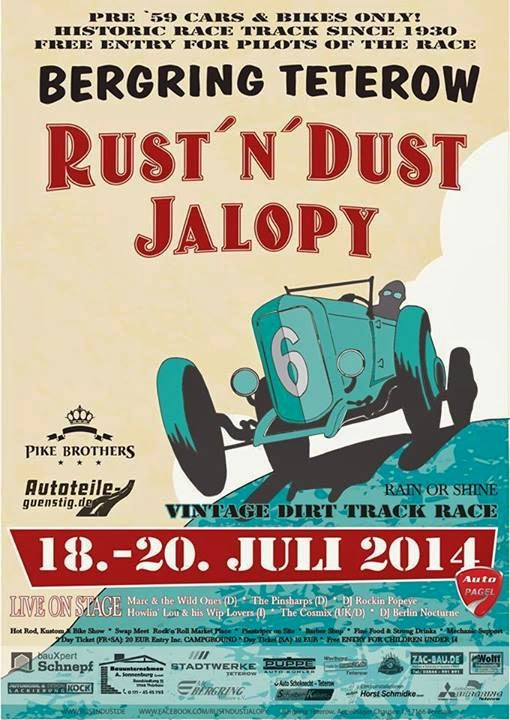 Rust`n`Dust Jalopy 2014