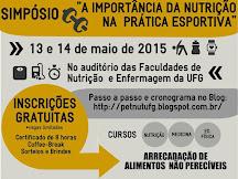 """II Simpósio PET-Nut: """"A Importância da Nutrição na Prática Esportiva"""""""