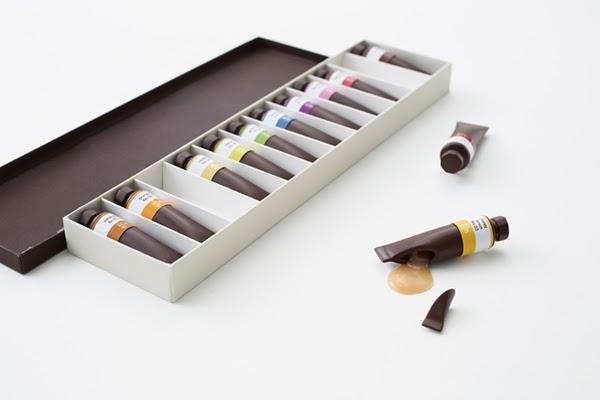 chocolate paint de nendo