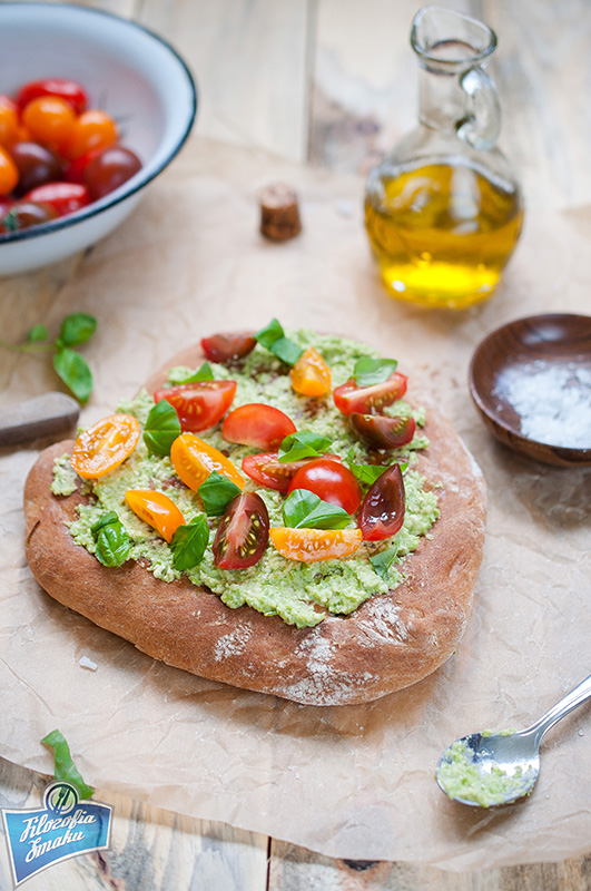 Chlebek z mąki orkiszowej
