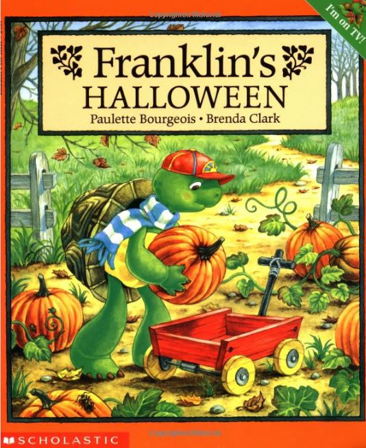The Franklin Cover Up Book : The picture book teacher s edition franklin halloween