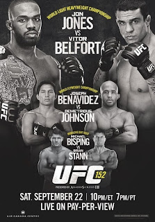 Download – UFC 152: Jones vs. Belfort - HDTV + 720p