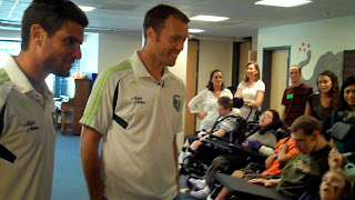 VID00158 Timbers players visit Providence Child Centers Camp PLAY