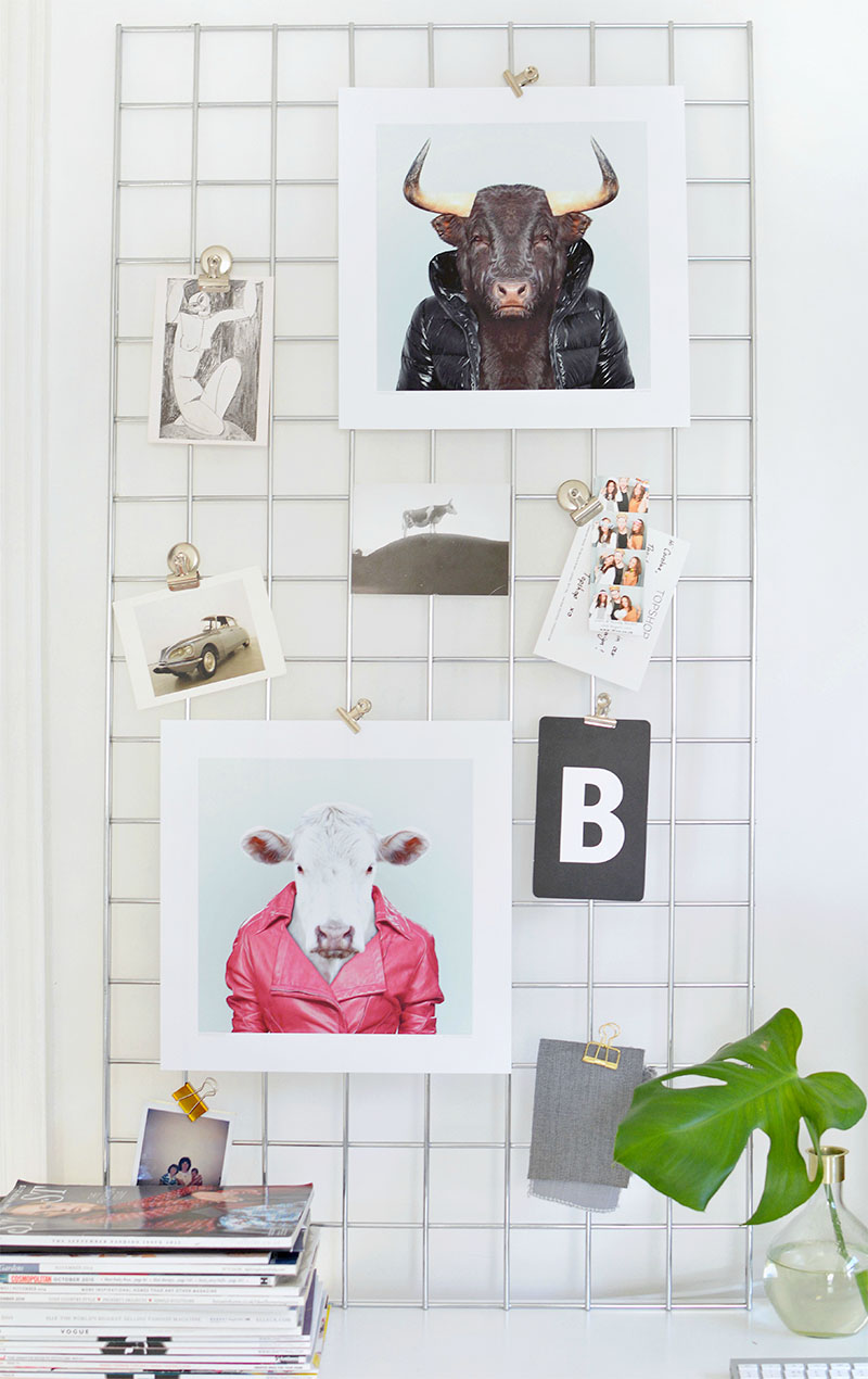 cute ways to hang art without frames | BURKATRON
