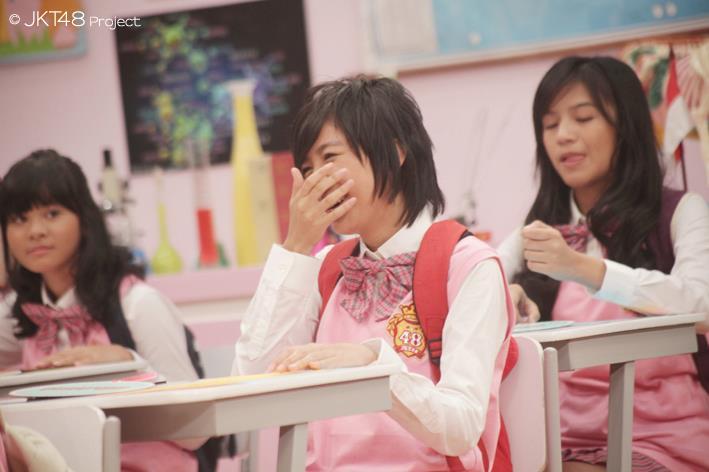Ghaida at JKT48 school episode 1