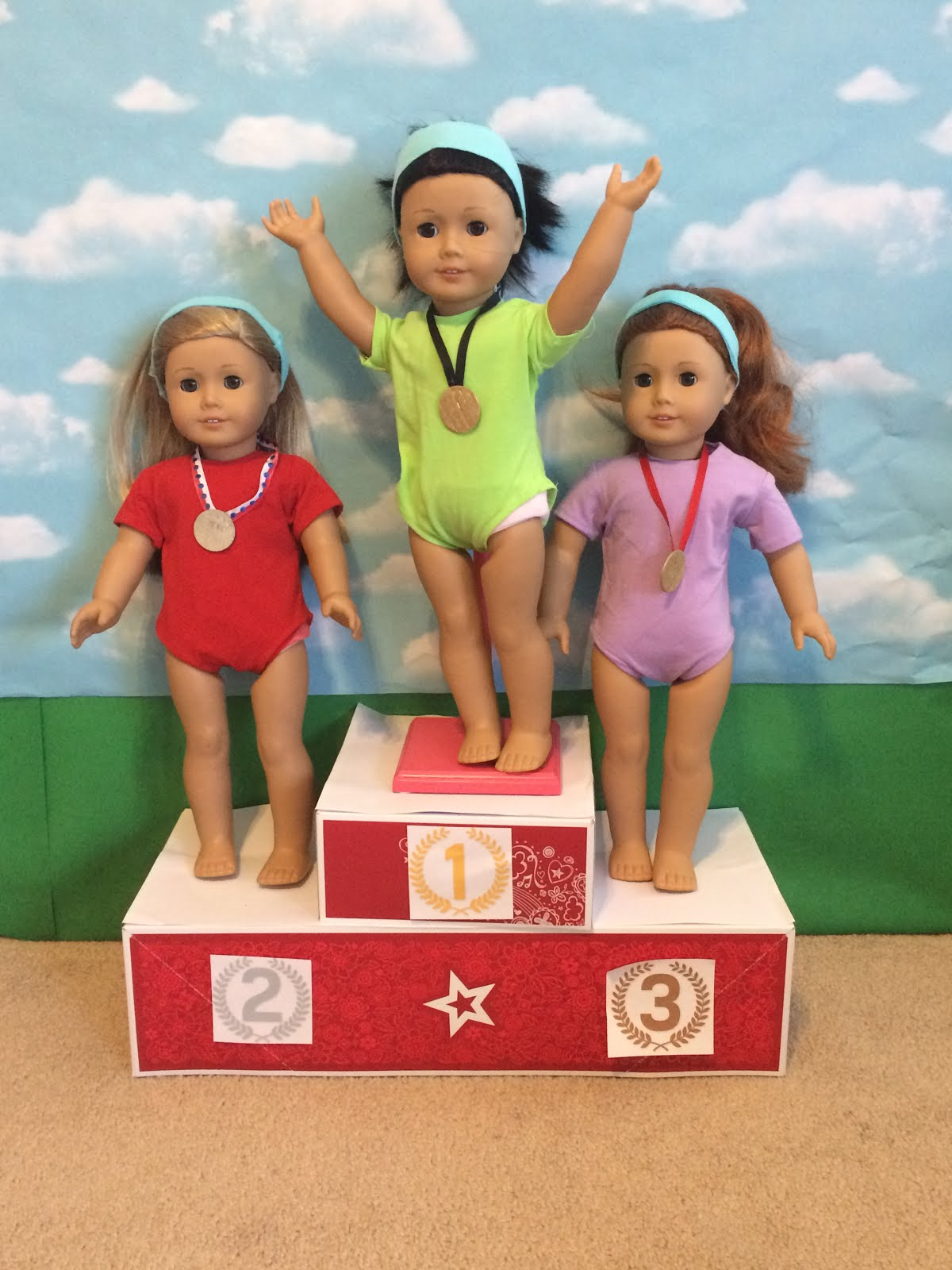 Winning at the Olympics Doll Maker Camp!