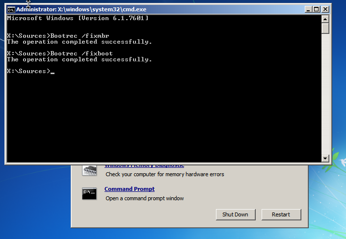 Daniel B's Tech Blog: Repair Windows 7 after removing a Linux ...