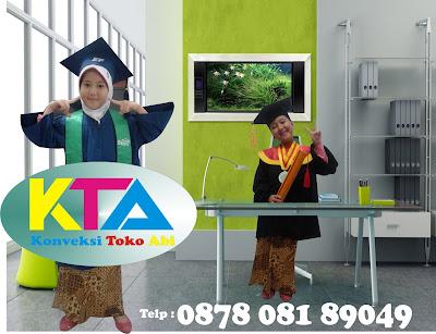 Toga Wisuda TK/PAUD