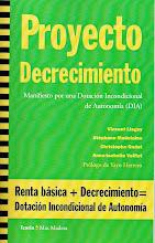 """""""Proyecto decrecimiento"""" (pdf)."""
