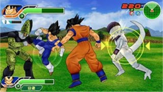 Dragon Ball Z Tenkaichi Tag Team (USA) PSP