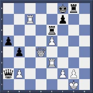 Echecs & Tactique : les Blancs jouent et matent en 5 coups - Niveau Moyen