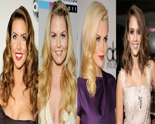 Holiday Hairstyles, Celebrities Holiday Hairstyles