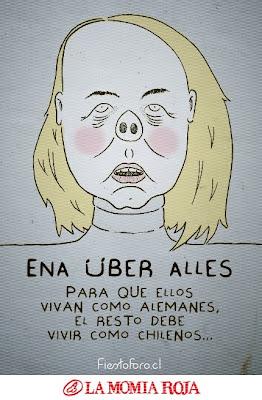 Caricatura Ena Von Baer