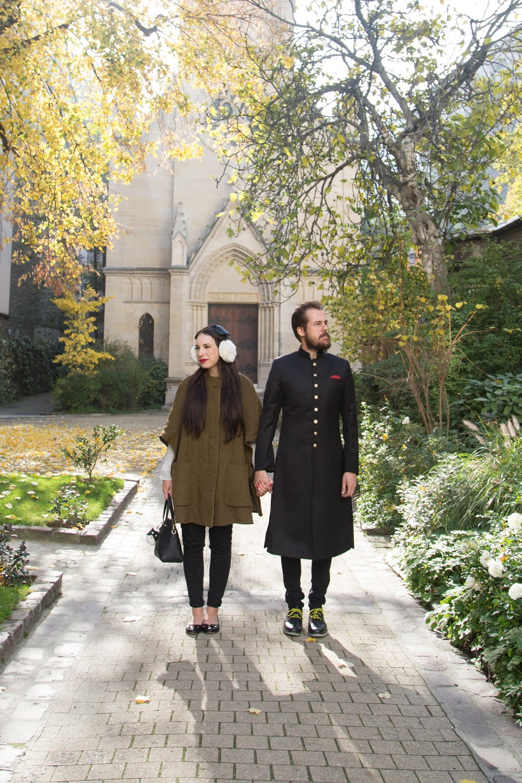 His and Her Paris Fall Fashion