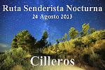 RUTA SENDERISTA NOCTURNA 2013