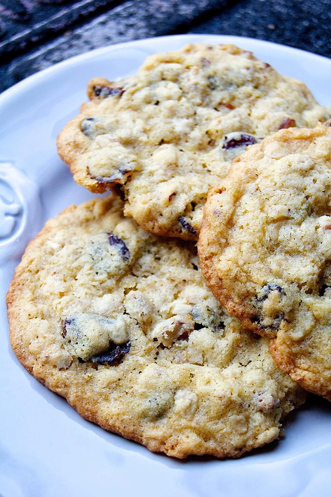 30/30 - #3 Cherry Walnut Oatmeal Cookies