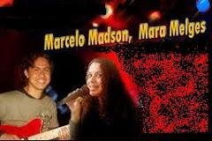 Marcelo Madson e Mara Melges