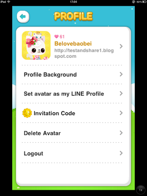 Kims test and share diary my line play character stopboris Gallery