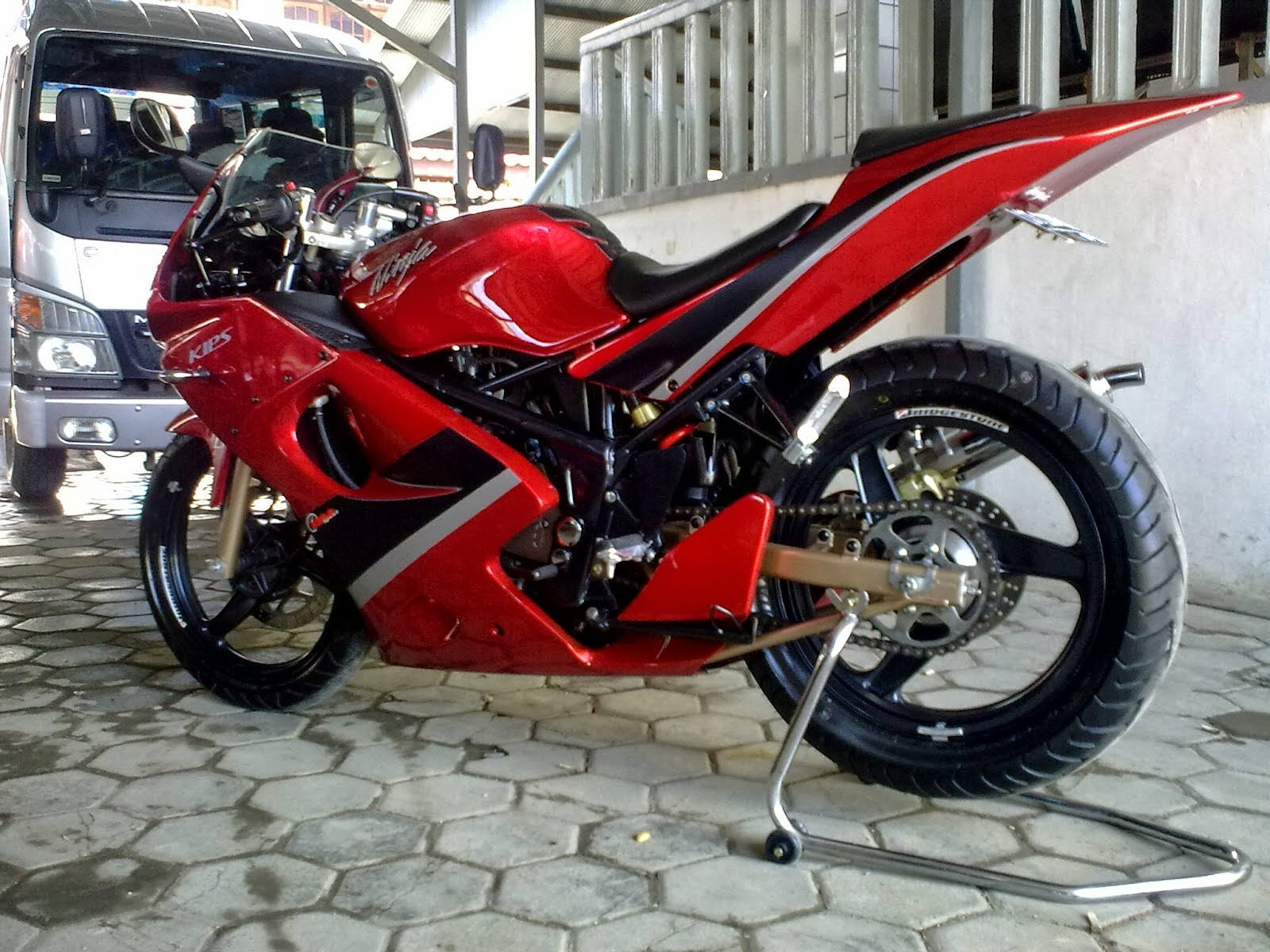 100 Gambar Motor Ninja 2 Tak Keren Terkeren Obeng Motor