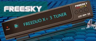 Atualizacao do receptor Freesky Freeduo X+ 3 Tuners V2.20